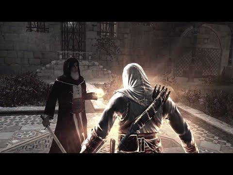 Assassin's Creed 1 - Final Boss Al Mualim & Ending [4K Ultra HD]