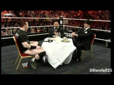 Santino owns Sheamus (again again?) [Tea Party]