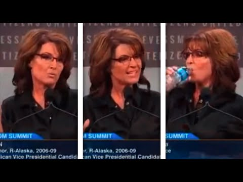 Sarah Palin Out-Palins Herself In Weird, Wild, 'Tragic' Speech
