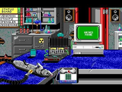 Ghostbusters 2 (PC DOS) Playthrough