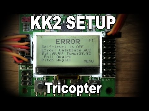 KK2 Setup video - Tricopter