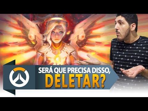 Overwatch | ANALISTA DE OVERWATCH DIZ QUE MERCY PRECISA SER DELETADA | Rasante #199