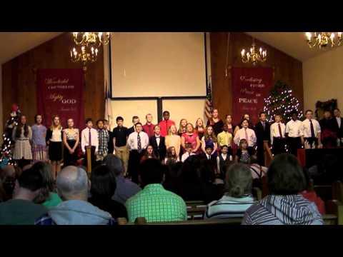 Websterville Baptist Christian School Christmas Concert Finale