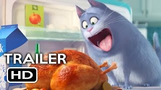 The Secret Life of Pets Official Trailer #1 (2016) Louis C.K. Animated Movie HD