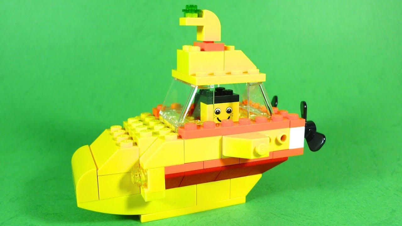 How To Build Lego SUBMARINE - 4630 LEGO® Build & Play Box Building ...