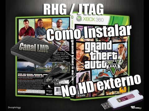 Como instalar - GTA V - NO  HD EXTERNO XBOX360 (RGH/ JTAG)