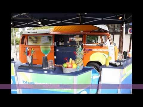 VW T2 Bus 1973. mobile alkoholfreie Bar