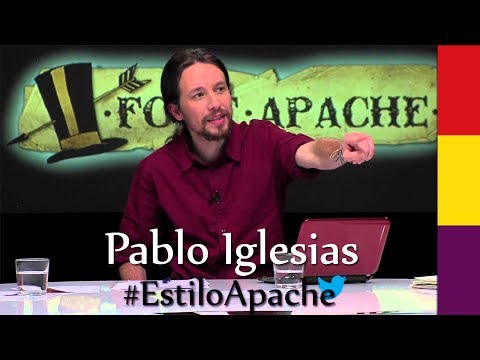 Pablo Iglesias presentador de la Tuerka vs Daniel Lacalle
