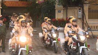Hà Nội ra quân bảo đảm trật tự an toàn giao thông đầu Xuân Mậu Tuất 2018