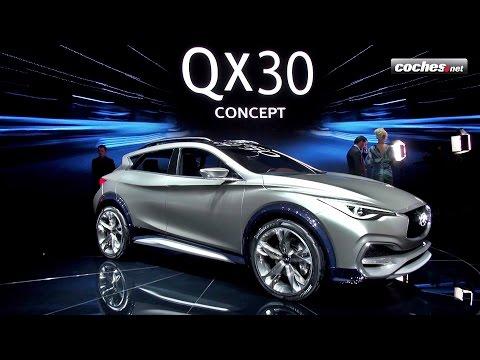 Infiniti QX30 Concept - Sal�n de Ginebra 2015 / Geneva International Motor Show