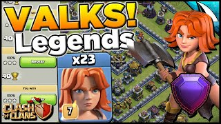 It is Possible! Crazy Valks at Town Hall 13 | Clash of Clans