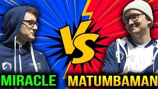 Miracle vs Matumbaman - Nice Try Dude!
