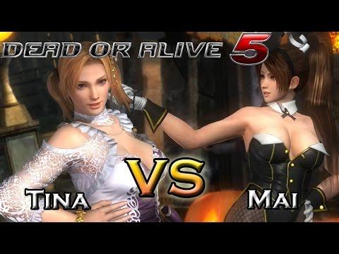 Dead Or Alive 5 Last Round - Tina Vs Mai
