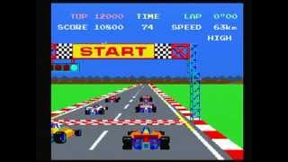Namco Museum Vol. 1 Pole Position (Playstation) Game Play