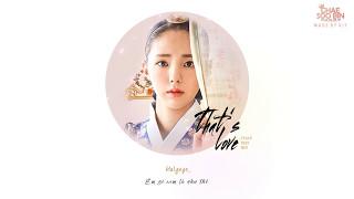 VIETSUB+KARA+HANGUL That`s Love -  Chae Soo Bin Ost Rebel Hong Gil Dong Part 10