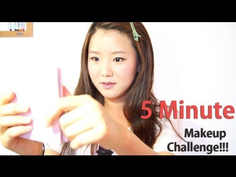 5 Minute Makeup Challenge TAG!