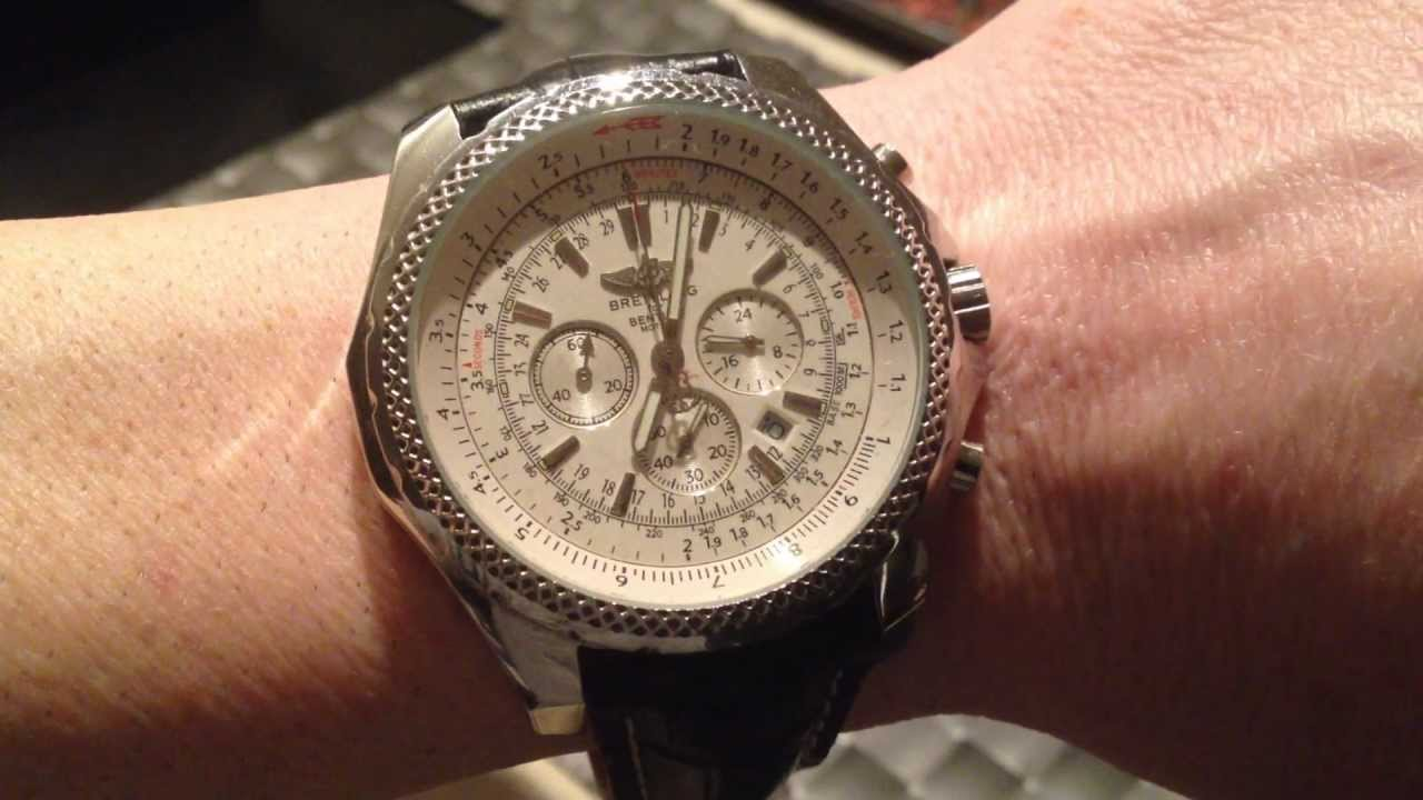 How To Spot A Fake Breitling Watch Youtube