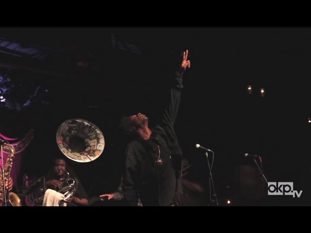 "The Soul Rebels and Joey Bada$$ Pay Tribute to Michael Brown with ""Hardknock"" LIVE"