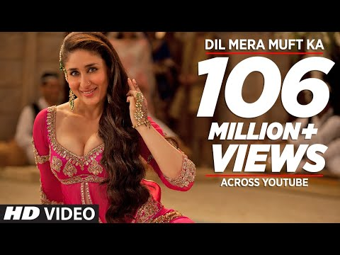 dil Mera Muft Ka Full Song | Agent Vinod | Kareena Kapoor video