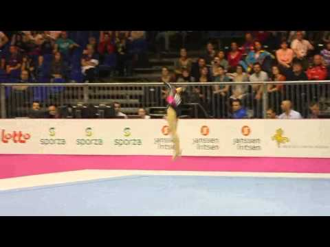 Diana BULIMAR ROU, Floor Senior Qualification, European Gymnastics Championships 2012