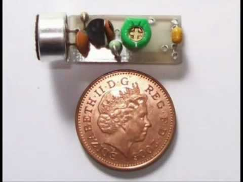 Building a super spy bug transmitter