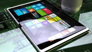 Nokia Lumia Coffee Tab Windows 8 tablet.flv