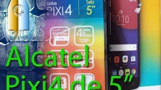 """Resenha - Alcatel Pixi 4 5 """" Color - 5010E / OT5010"""