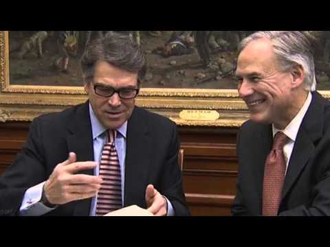 RICK PERRY'S GIFT TO TEXAS' GOVERNOR-ELECT...A BIBLE VERSE?: Jake MacAulay