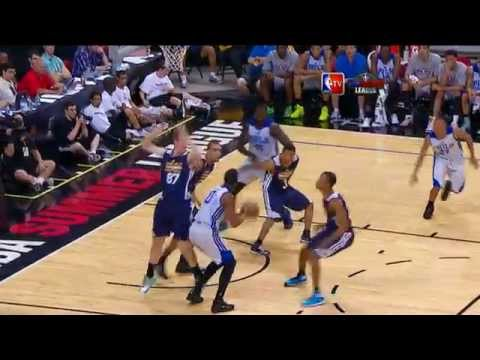 Rudy Gobert Turns Defense Into Offense