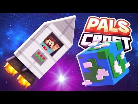 TRAPPED IN SPACE!!   PalsCraft #18