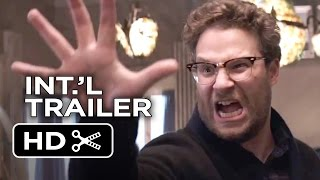 The Interview Official Final International Trailer (2015) - Seth Rogen, James Franco Comedy HD