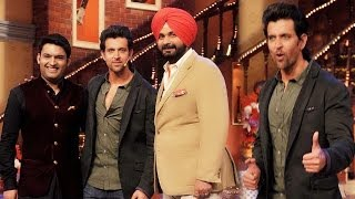 Hrithik Roshan Promotes Krrish 3 On The Sets Of Comedy Nights With Kapil