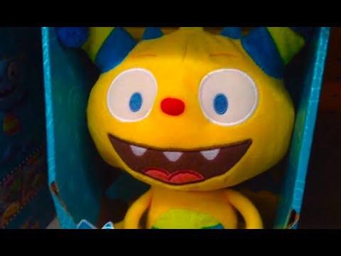 HENRY HUGGLEMONSTER [Talking Toy] Disney Junior TOY REVIEW