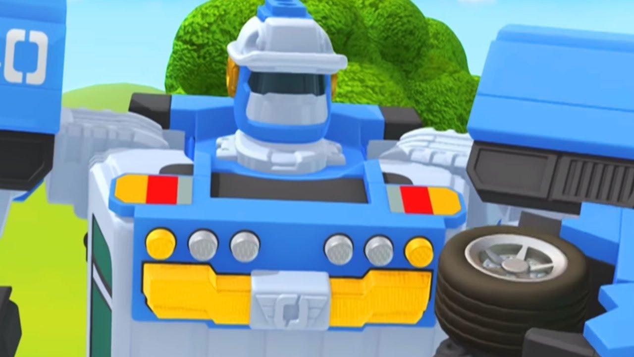 Тоботы новые серии - 18 Серия 3 сезон - мультики про роботов трансформеров [HD]