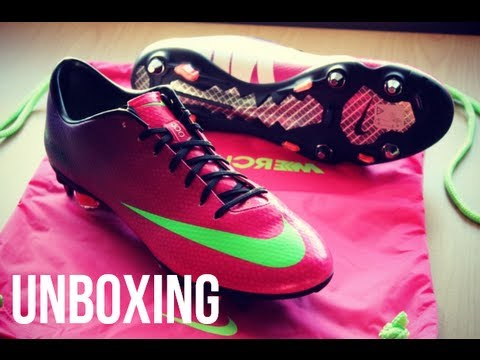 Unboxing Nike Mercurial Vapor IX 9 ACC SG Pro - Fireberry/Green/Red