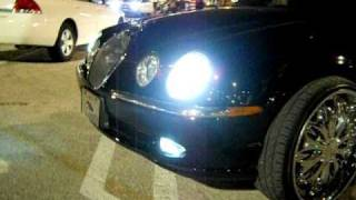 "Jaguar S-Type on 22"" Dub Esinem Floaters"