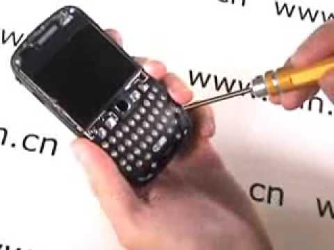 BlackBerry Curve 8520 full disassembly tutorial