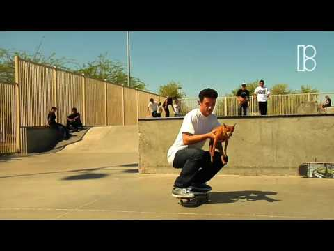 Plan-B Skateboarding in Arizona Part 1