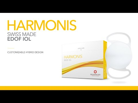 Harmonis - Customizable EDOF IOL for Cataract Surgery