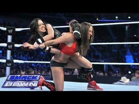 Nikki Bella vs. AJ Lee: SmackDown, Feb. 7, 2014