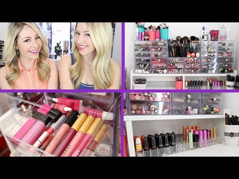 Makeup Collection & Storage 2013 | Stefanie