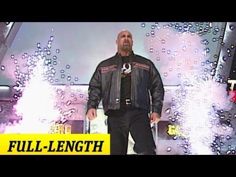 Goldberg's Wwe Debut video