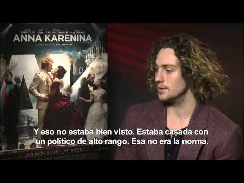 ANNA KARENINA -Entrevista a Aaron Taylor-Johnson