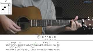 How to play All I Ever Wanted with Brian Melo (also associated with Dear John/John Tyree on YouTube)