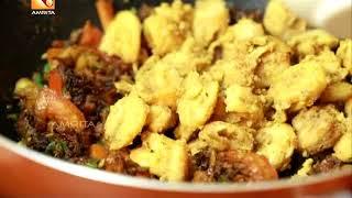 Tasty Days In Dubai With Annie | Idiyappam Prawns Biryani Recipe | Ep :4