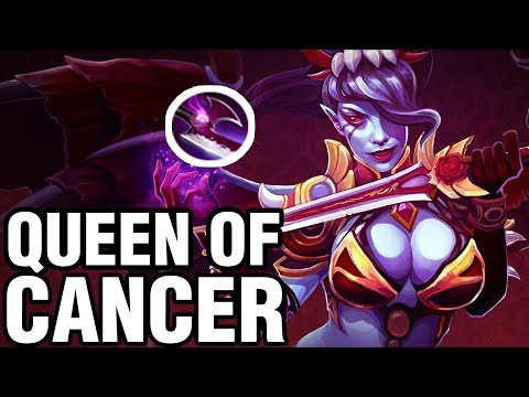 QUEEN OF CANCER - inYourdreaM Plays Queen of Pain - Dota 2