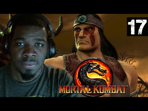 Mortal Kombat 9 Gameplay Walkthrough Part 17 - Nightwolf + Sindel - Lets Play Mortal Kombat 9