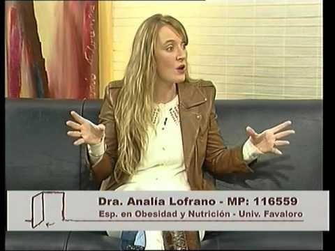 Dra Analia Lofrano  en A Puertas Abiertas 18-10-14 Bloque 2