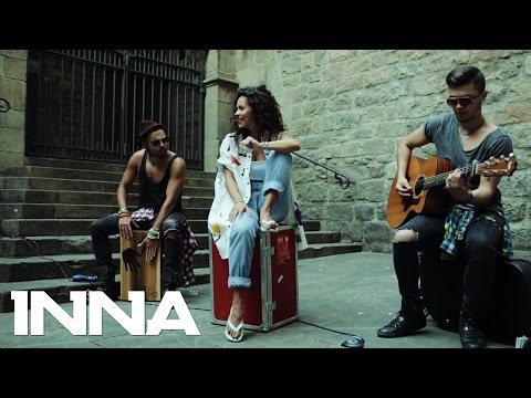 INNA - Low (Live on the street @ Barcelona)