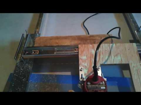 Cheap homemade gunstock duplicator part 1